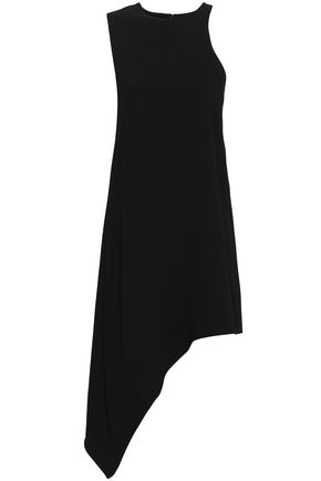 IRO Away asymmetric crepe mini dress