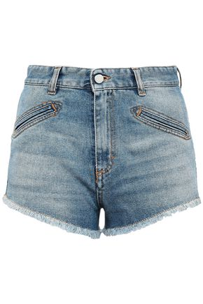 FIORUCCI Frayed denim shorts