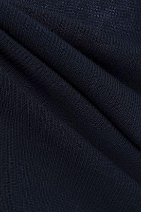 MAISON MARGIELA Intarsia-knit cotton top