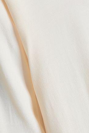IRO Erila lace-trimmed crepe de chine top