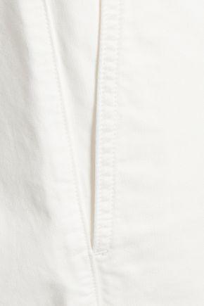 MM6 MAISON MARGIELA Cropped denim jumpsuit