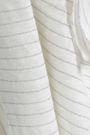 IRO Khaliad distressed striped linen-blend jersey T-shirt