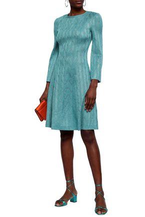 50ae00aedf28 MISSONI Metallic crochet-knit dress