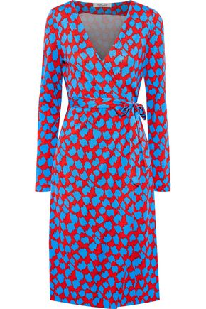 DIANE VON FURSTENBERG Printed silk-jersey wrap dress