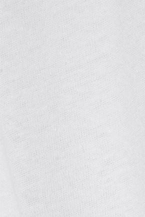 ENZA COSTA Hemp and cotton-blend jersey T-shirt