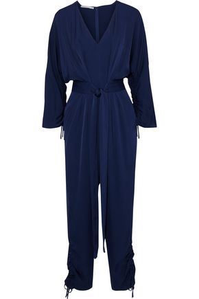 STELLA McCARTNEY Ruched crepe jumpsuit