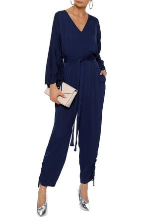 fbbbdf77d6e STELLA McCARTNEY Ruched crepe jumpsuit