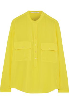 STELLA McCARTNEY Estella silk crepe de chine shirt