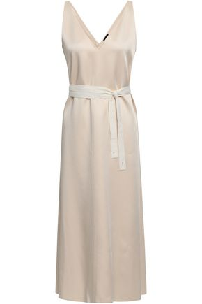 JOSEPH Davey satin midi dress