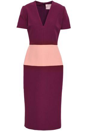 ROKSANDA Two-tone cady dress