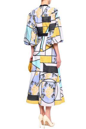 ROKSANDA Jacquard midi dress