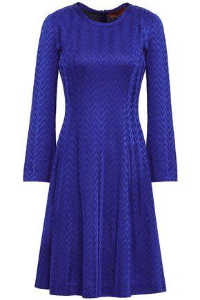 MISSONI Fluted crochet-knit dress