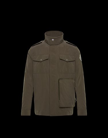 HALGAND Military green Jackets
