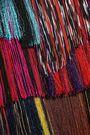 MISSONI Fringed crochet-knit mini dress