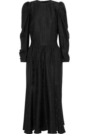 40996809eb9 STELLA McCARTNEY Silk-jacquard midi dress