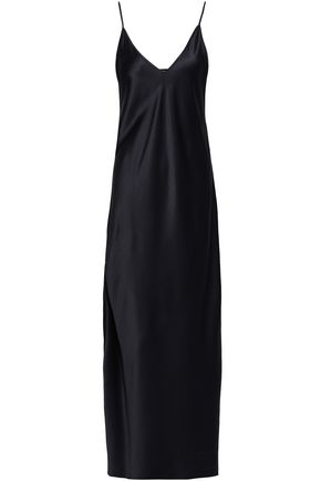 JOSEPH Silk-satin maxi dress