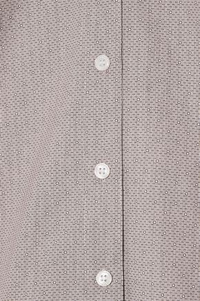 BY MALENE BIRGER Sabara printed cotton-poplin shirt