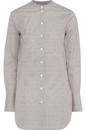 BY MALENE BIRGER Sabara printed cotton-poplin shirt