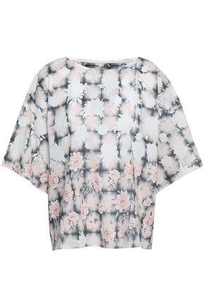 b29023f71bff2c MM6 MAISON MARGIELA Floral-print cotton top