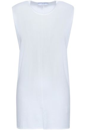 IRO Mélange cotton-blend jersey tank