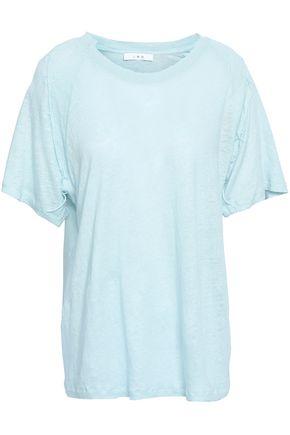 IRO Milna slub linen-jersey T-shirt