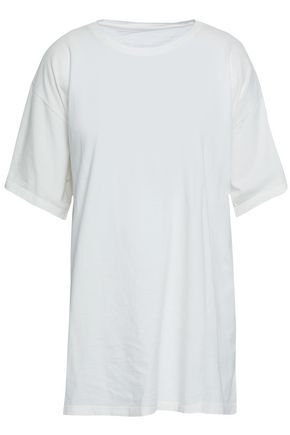 MM6 MAISON MARGIELA Printed cotton-jersey T-shirt