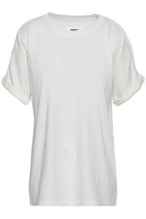 MM6 MAISON MARGIELA Cold-shoulder cotton-jersey top