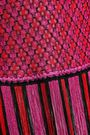 MISSONI Fringed crochet-knit top
