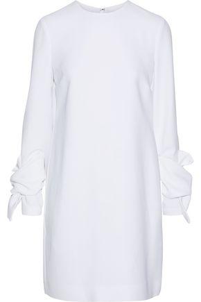 VICTORIA, VICTORIA BECKHAM Knotted crepe mini dress