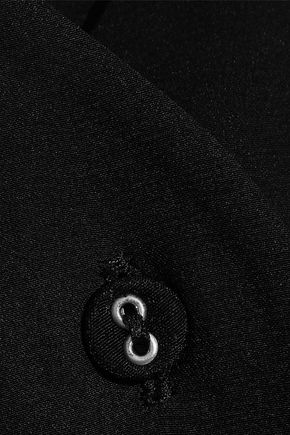 VICTORIA, VICTORIA BECKHAM Silk-satin halterneck blouse