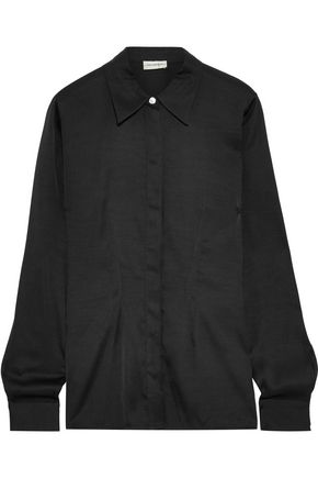 BY MALENE BIRGER Stretch-silk shirt