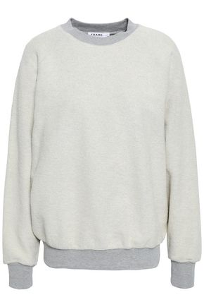 FRAME French cotton-terry sweatshirt