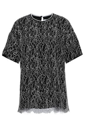 VICTORIA, VICTORIA BECKHAM Corded lace top
