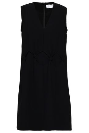 VICTORIA, VICTORIA BECKHAM Knotted crepe mini dress