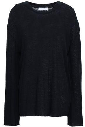 IRO Slub cotton and linen-blend jersey top