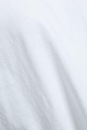 IRO Kilia cotton and wool-blend jersey tank