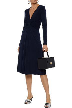 BY MALENE BIRGER Xenias twist-front stretch-crepe dress