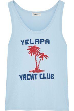 FIORUCCI Yelapa Club printed cotton-jersey tank