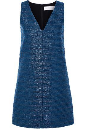 VICTORIA, VICTORIA BECKHAM Metallic cloqué mini dress