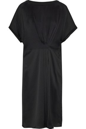 BY MALENE BIRGER Linana pleated satin-crepe dress