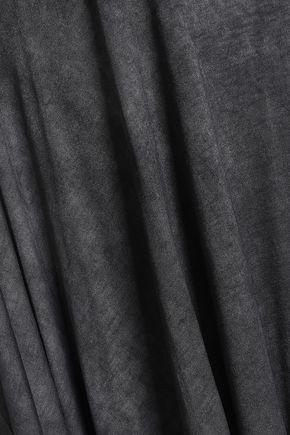 IRO Eloaz draped stretch-jersey top