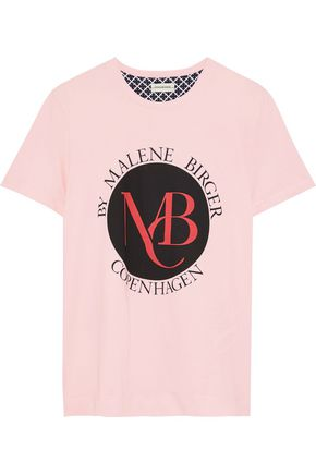 BY MALENE BIRGER Aggitas printed cotton-jersey T-shirt
