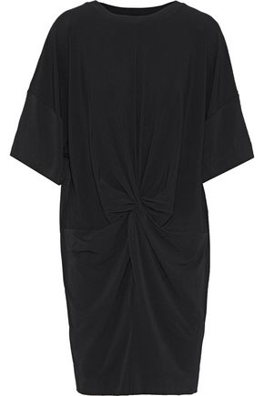 BY MALENE BIRGER Aliya knotted stretch-crepe mini dress