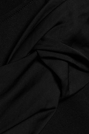 VICTORIA, VICTORIA BECKHAM Twisted cotton-jersey T-shirt
