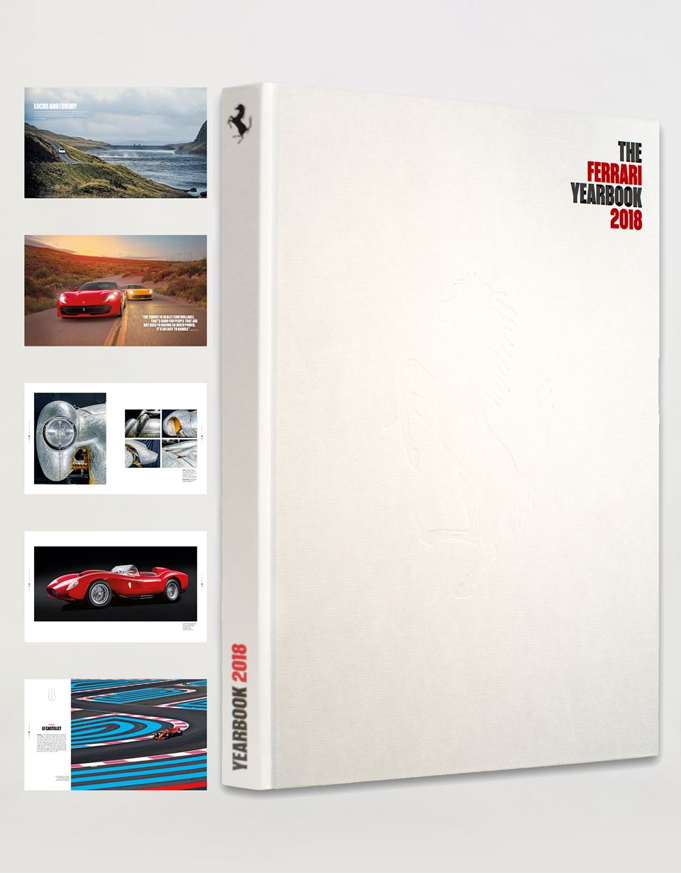 Scuderia Ferrari Online Store - The Ferrari 2018 Yearbook - Yearbooks