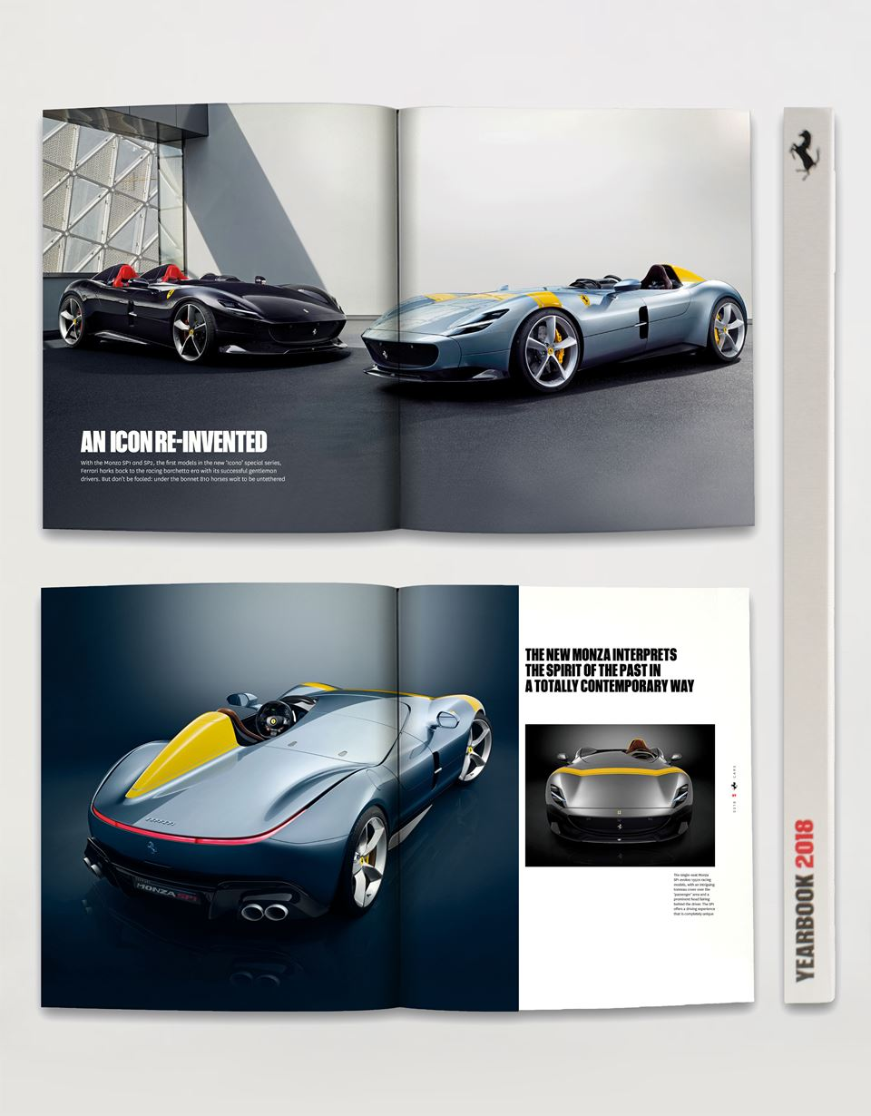 Scuderia Ferrari Online Store - The Ferrari Yearbook 2018 - Yearbooks