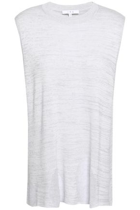 IRO Distressed knitted top