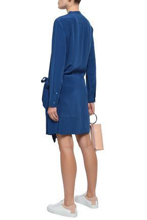 EQUIPMENT Winton wrap-effect washed-silk shirt dress