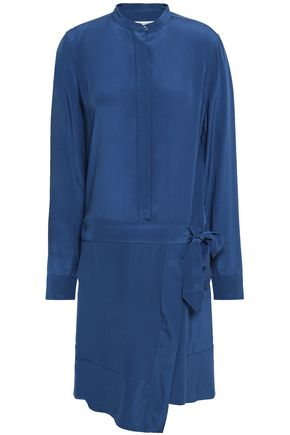 EQUIPMENT Winton wrap-effect washed-silk shirt dress