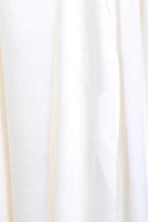 SIMONE ROCHA Bow-embellished silk blouse
